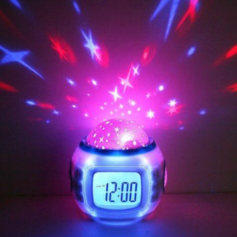 Часы проектор звездного неба