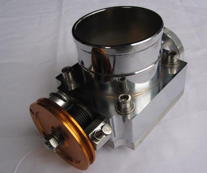Дроссельная заслонка увеличенного диаметра 100 мм универсальная