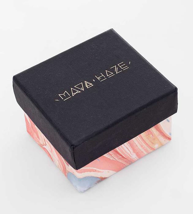 купите оригинальное кольцо из серебра с кианитом от MAVA HAZE