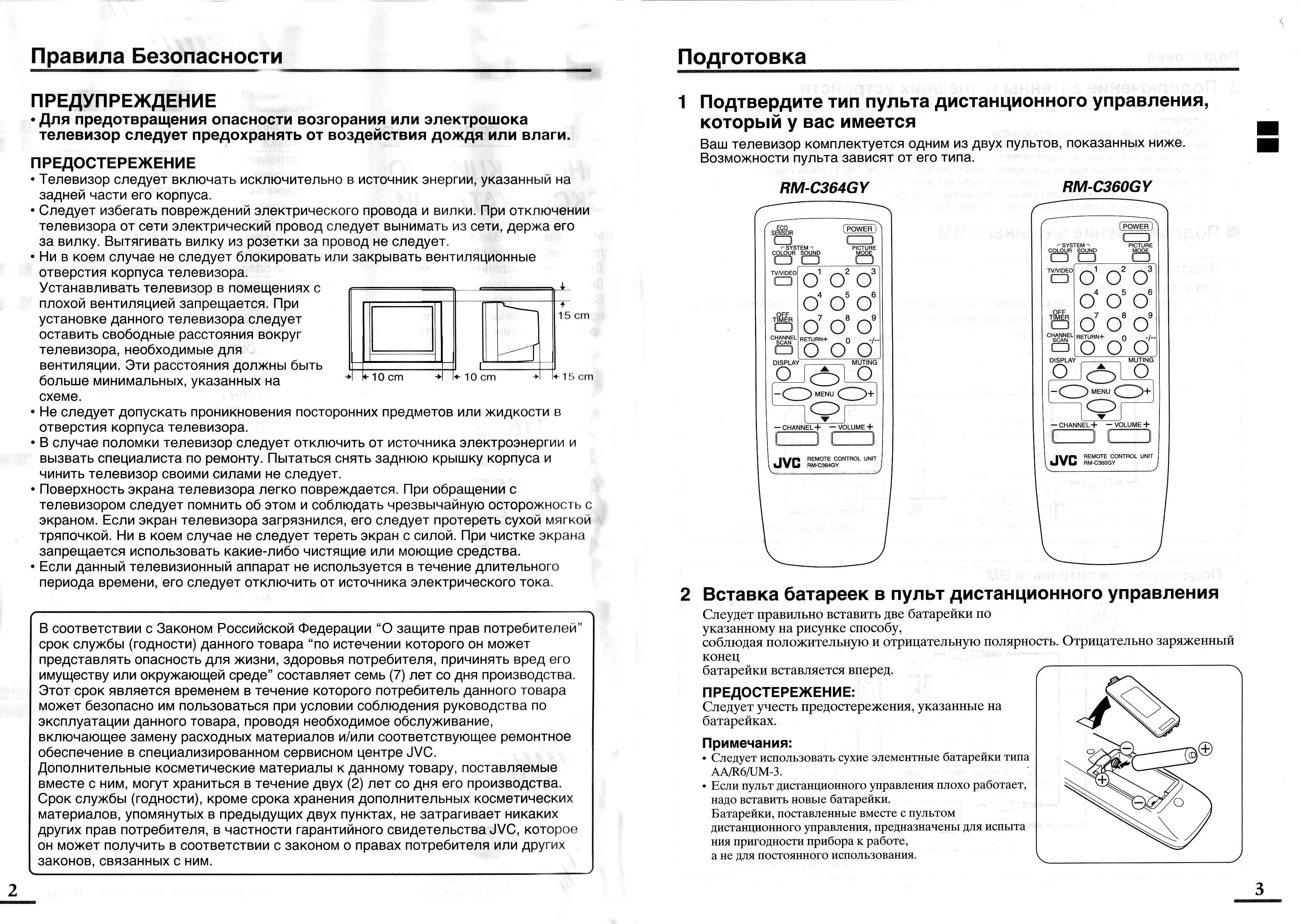 Jvc инструкция к телевизору jvc