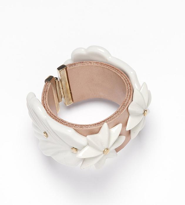 бижутерия из фарфора от ANDRES GALLARDO Escarcha bracelet