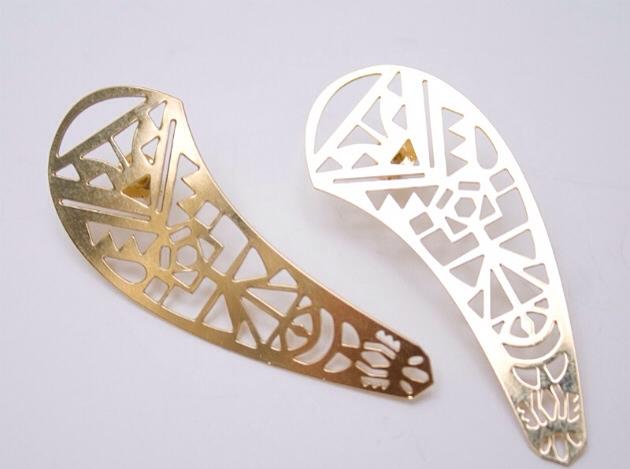 купите металлические серьги от Chic Alors-Paris