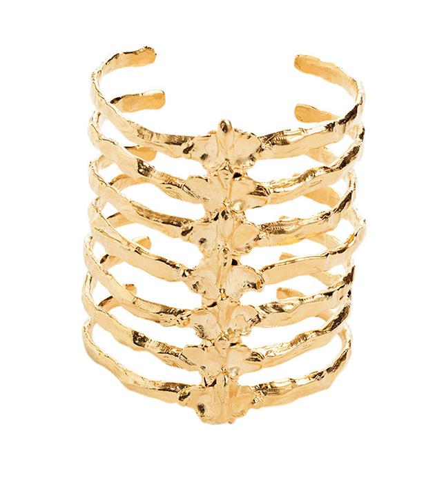 оригинальный браслет в форме позвоночника от норвежского бренда BJORG - After Eden armpiece