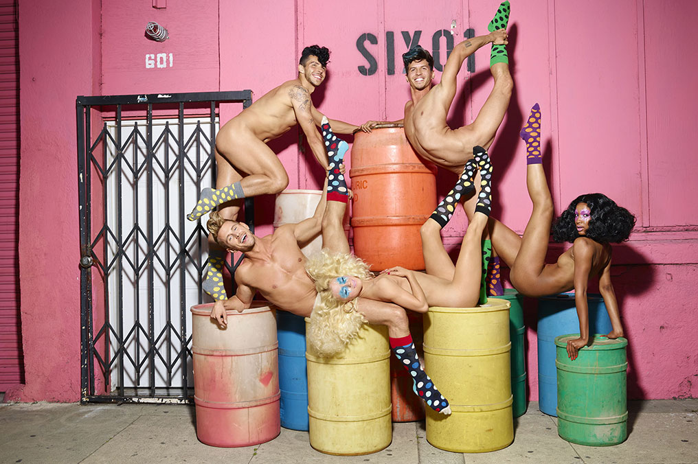Happy Socks David LaChapelle www.artofsocks.ru