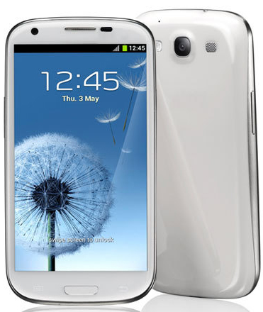 i9300+ Galaxy S3 White Android 4.0 (MTK6577)