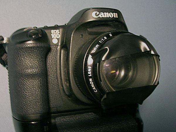Фотоаппарат с линзой своими руками