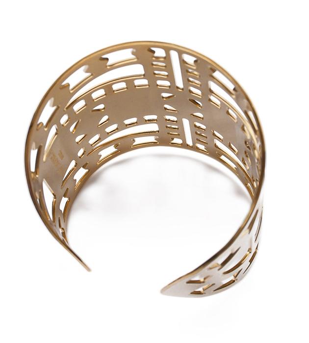 купите позолоченный браслет-манжет Vassily от Chic Alors-Paris
