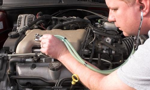 необходимо пару раз в год диагностировать двигатель автомобиля.
