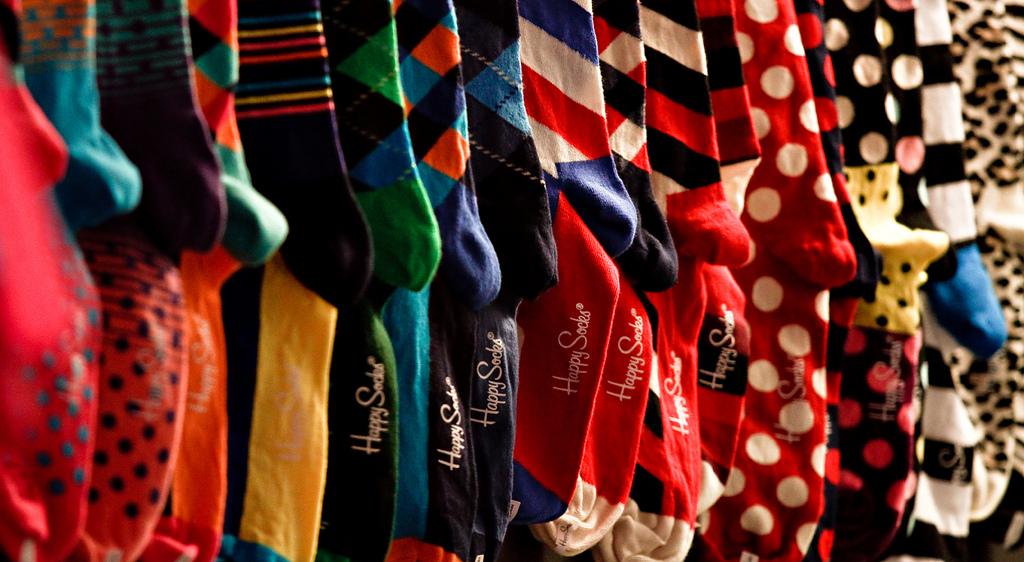 Модные цветные носки Happy Socks в интернет магазине Art of Socks