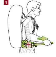 Как отрегулировать туристический рюкзак рюкзак coccinelle c1 xg0 14 01 01 524