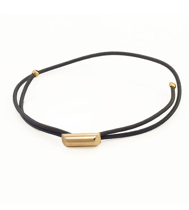 золотисто-серый браслет Stick Dark Grey в стиле casual от Helena Rohner