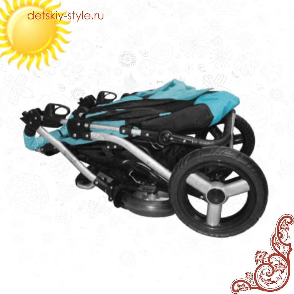 Детская коляска BabyActive Sport Q в сложенном виде