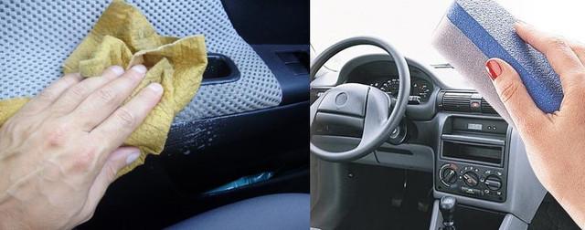 Как правильно протирать кожаные части салона автомобиля