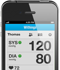 Тонометр Withings Blood Pressure Monitor