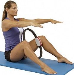 Кольцо изотоническое Пилатес (Pilates Magic Ring) (Bradex)