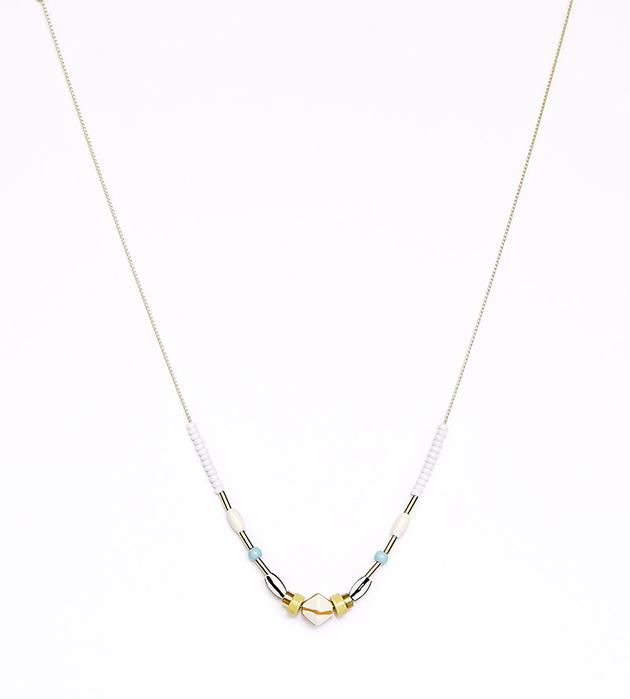 изящное ожерелье на цепочке Silent от Apres Ski
