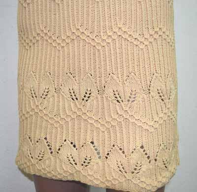 платье из пряжи Лира