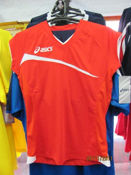 Форма волейбольная Asics Set Play Off Red Жен