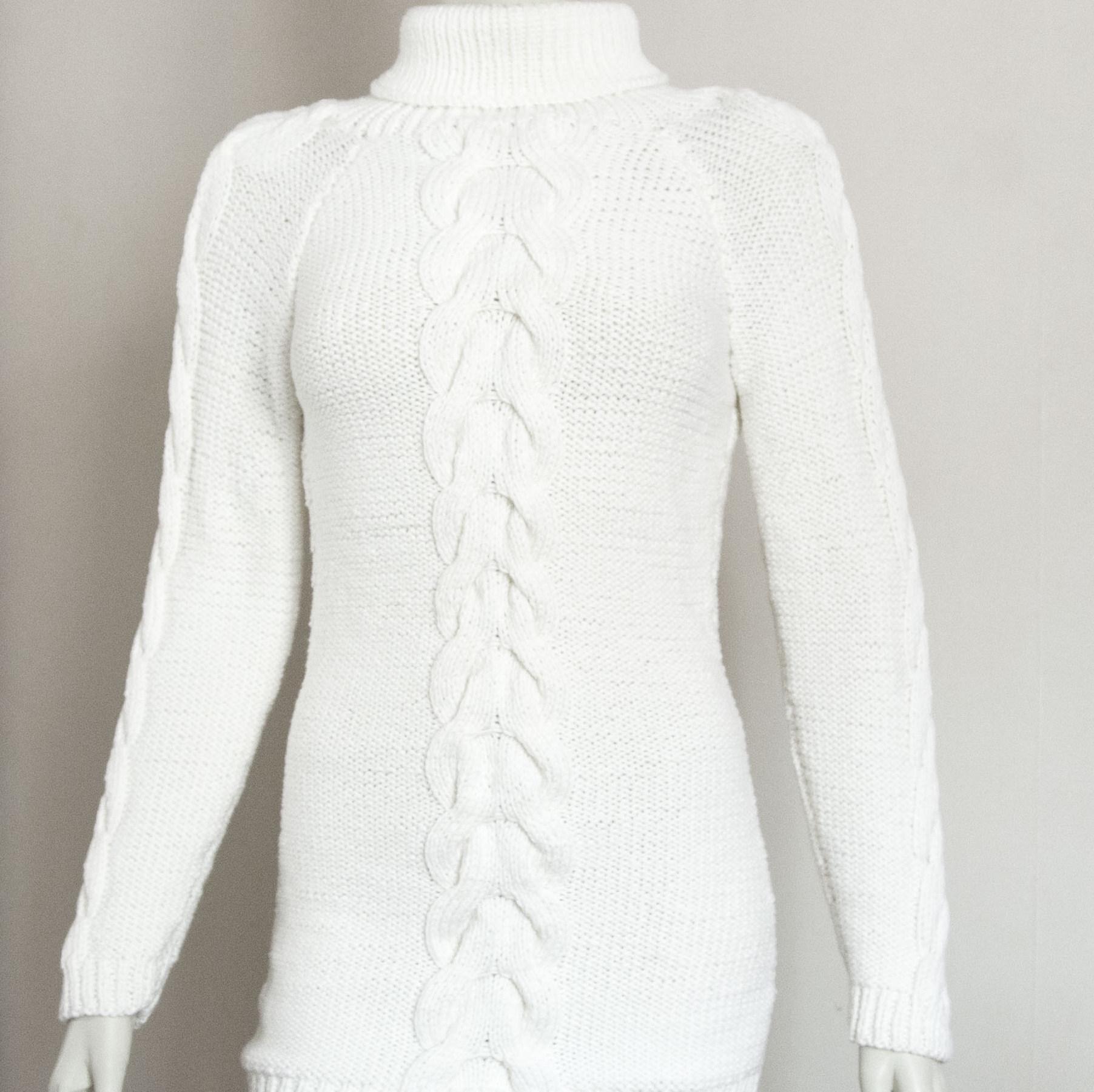 Белые свитера женские