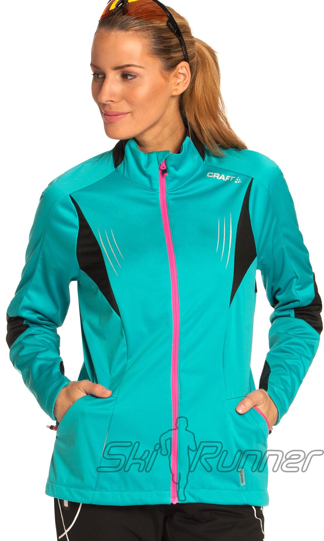 Куртка Craft Performance Blue женская 1901705-2652
