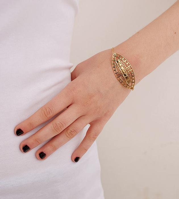 стильная французская бижутерия ручной работы от Chic Alors-Paris -браслет Vassily