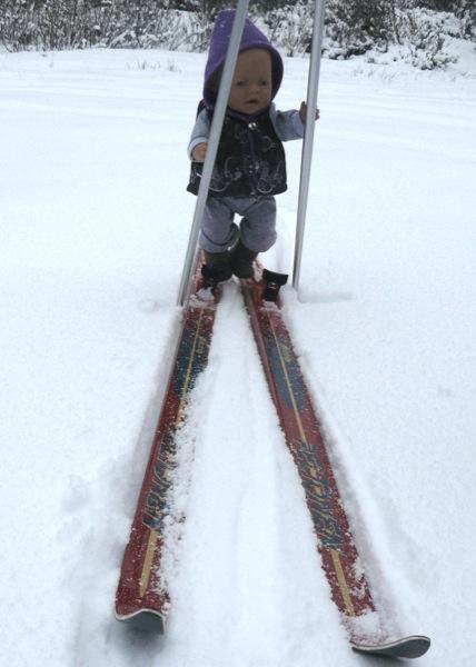 На лыжах по первому снегу