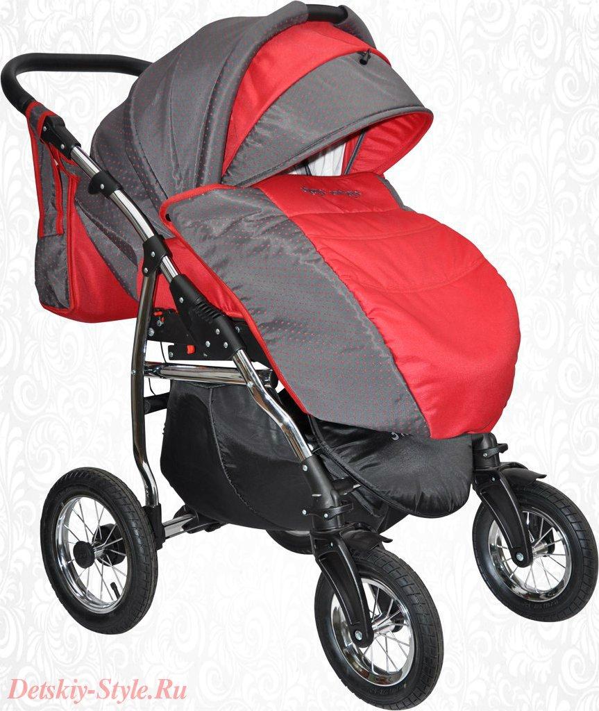 Прогулочная детская коляска Stroller Maxima Magic 2в1 поворотные колеса