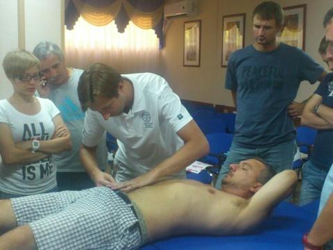 Применение оригинальной методики кинезиотейпирования Kinesio Taping в спортивной медицине