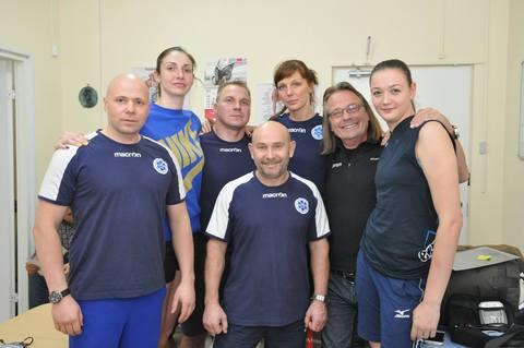 Хейко ван Влит дал консультацию по электростимуляции в клубе Динамо-Казань