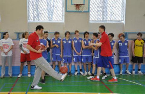 БК ЦСКА провел очередное занятие проекта One Team