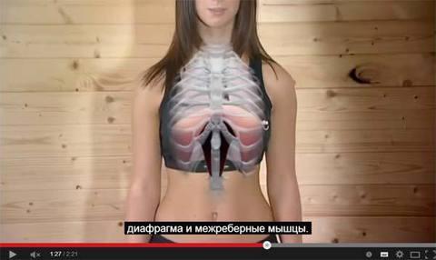 О пользе диафрагмального дыхания