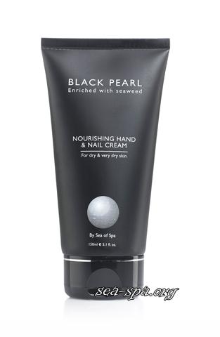 Обзор Жемчужного питательного крема для рук и ногтей Sea of SPA линия Black Pearl, 150мл