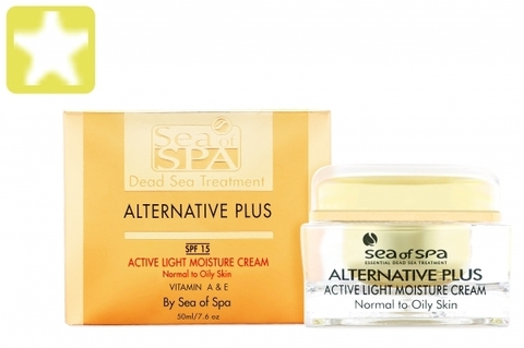 ВИДЕО Обзор Легкого увлажняющего крема для жирной и нормальной кожи лица Sea of SPA линия Alternative Plus 50мл