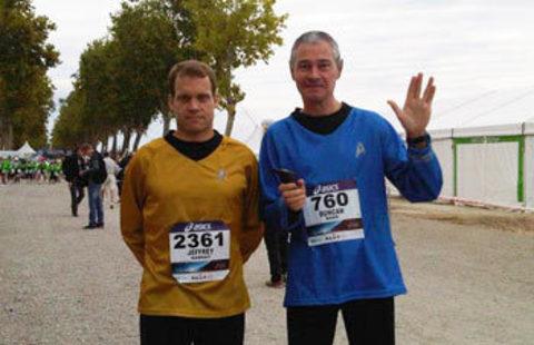 Команда Star Trek и POWERbreathe успешно пробежала марафон в Медоке