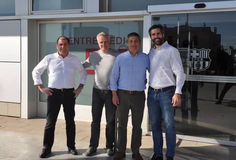 Eaglesports организовал визит медиков ФК Зенит в ФК Барселона