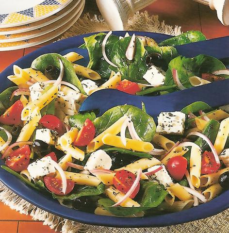 Греческая закуска со шпинатом (Рецепт-219)