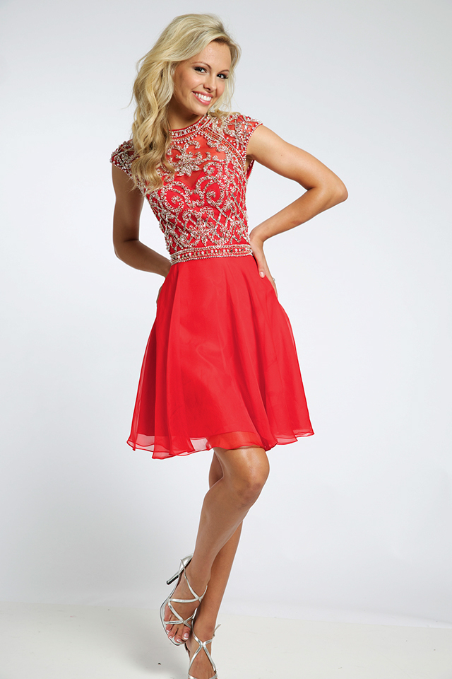 Платья красный доставка