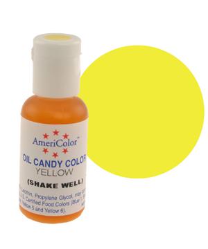 Краска для шоколада AmeriColor  YELLOW, 19 гр.