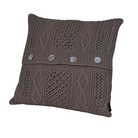 Элитная подушка декоративная Bradford коричневая от Casual Avenue