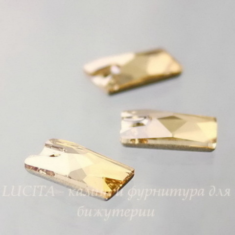 3500 Подвеска Сваровски Lochrose Crystal Golden Shadow (12,5х7 мм) ()