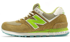 Кроссовки Мужские New Balance 574 Classic Brown Green