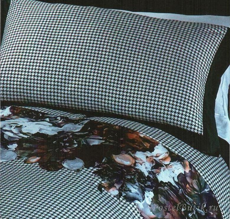 Постельное белье 1.5 спальное RoccoBarocco Romantik Dark