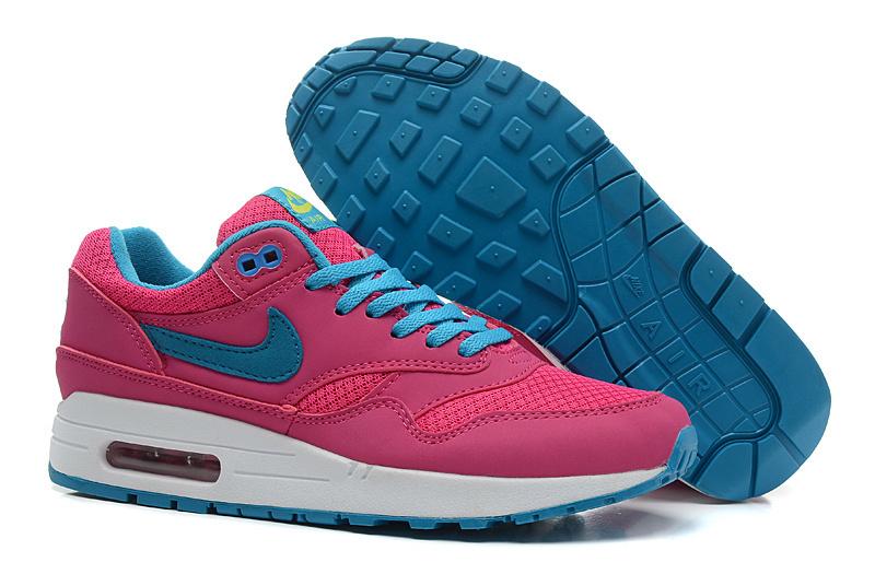 902727405 Купить Кроссовки женские Nike Air Max 87 Pink Blue с доставкой по Москве и  России. Скидки до 70%   Заказать в Интернет-магазине The-shoes.ru