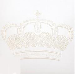 Наволочка декоративная 42х42 Luxberry Queen белая
