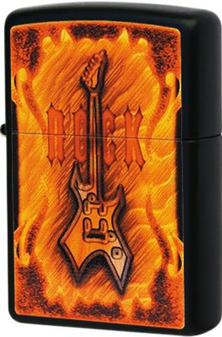 Зажигалка Zippo Rock Guitar (218)