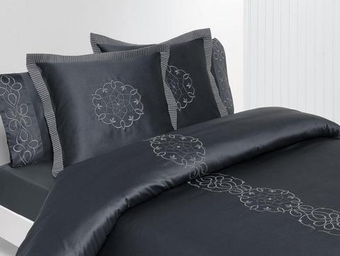 Постельное белье 1.5 спальное Bovi Франсе Нуар графит