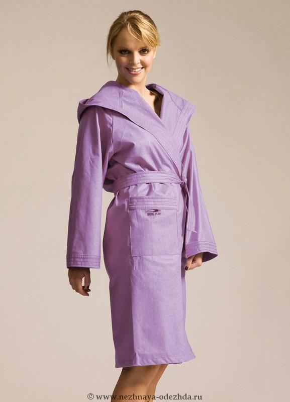 Женский халат из микрофибры Spaziale Splendy (Женские халаты)