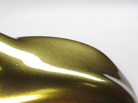 Пигмент перламутровый (прозрачный, сухой, крупный) Brilliant Pearls Gold золотой, 30гр