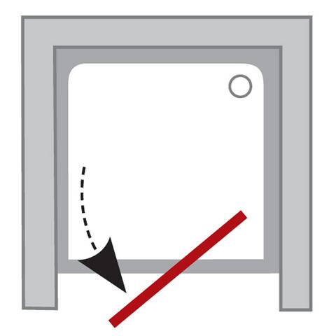 Ravak Pivot душевая дверь 90см одноэлементная (03G70U00Z1)