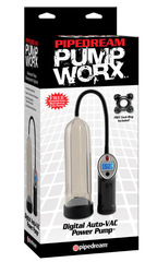 Вакуумная помпа для увеличения члена с автоматическим насосом Digital Auto VAC Power Pump (6 х 25 см)